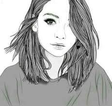 ผลการค้นหารูปภาพสำหรับ dibujos faciles de chicas tumblr