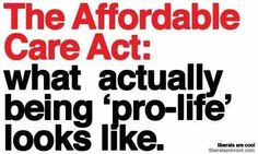 You had me with the  no pre existing conditions for kids; now same for adults.