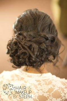 wedding updo with braid Fancy Hairstyles, Different Hairstyles, Wedding Hairstyles, Wedding Updo, Prom Updo, Natural Hair Styles, Long Hair Styles, Dream Hair, About Hair