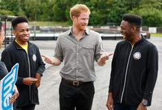 Pin for Later: Prince Harry Is Full of Laughs During His Latest Outing