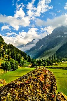 Sonmarg in Kashmir, Jammu and Kashmir, India