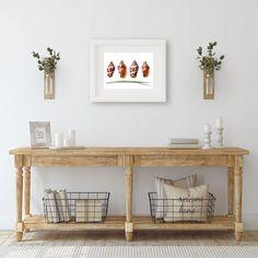 Seashell Decor Bedroom Wall Art, Lake House Decor Shell Print Simple Wall Art #MinimalistWallArt #WallArtPrints #WallHanging #BeachDecor #NauticalDecor #BathroomWallDecor #ShellWallArt #LibraryDecor #LakeHouseDecor #BedroomWallArt