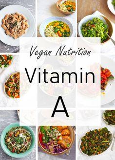Vegan Vitamins, Vitamins For Women, Vegan Nutrition, Nutrition Guide, Vitamin Rich Foods, How To Become Vegan, Rich Recipe, Vegan Meal Prep, Vegan Recipes