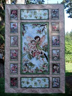 1000 Images About Fairy Quilts On Pinterest Flower