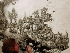 Ilustração | Caneta, papel ou algum espaço na parede já são o suficiente para colocar toda a imaginação em prática e estilizar qualquer coisa que já seja tendência passada.