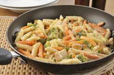 Pasta con brocoli y crema 2