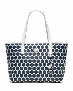 Small Kiki Tote by MICHAEL Michael Kors at Neiman Marcus.  #purse #handbag #fashion