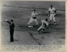Babe Pinelli Umpire Perfect Game World Series 1956!