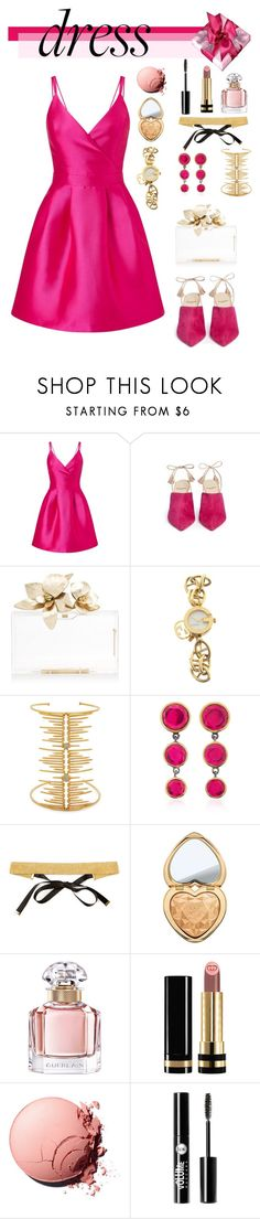 """""""So Pretty: Dreamy Dresses"""" by celeste-menezes ❤ liked on Polyvore featuring Miss Selfridge, Alexander White, Gucci, Joanna Laura Constantine, SheBee Gem, Magdalena Frackowiak, Too Faced Cosmetics, Guerlain, Charlotte Russe and dreamydresses"""