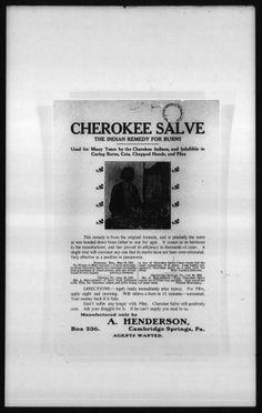 Cherokee Salve