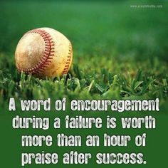 I remember the words of encouragement after a failure or loss, much more then the sounds of praise.might say something about my failure to success ratio? Life Quotes Love, Great Quotes, Quotes To Live By, Me Quotes, Motivational Quotes, Inspirational Quotes, Wisdom Quotes, Sport Quotes, Positive Quotes
