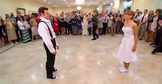 When This Couple Stepped Out For Their First Dance, The Guests Were Not Expecting To See THIS!