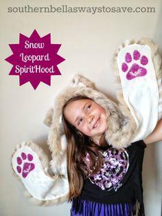 Snow Leopard SpiritHood  #Spirithoods #Inneranimal