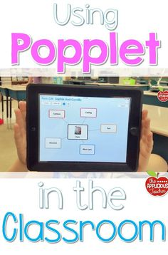 The easy teacher's guide for using Popplet in the classroom this year. One simple app that will change your opinion of technology in the classroom for good!:
