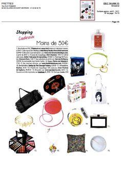 Mini labo, Pretties Magazine, Décembre, janvier 2014-2015