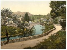 Bridge of Ross Comrie Scotland 1890. by vintagephotograph on Etsy