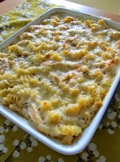 Ingredients:     3 Tbsp butter   Salt & pepper   1/2 lb. pasta (rotini, penne, rigatoni, bowties- whatever you'd like)   1 tsp o...