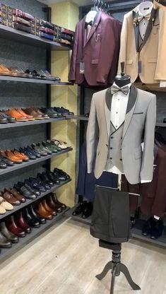 Blazer Outfits Men, Blazer Fashion, Mens Fashion Suits, Mens Casual Suits, Stylish Mens Outfits, Designer Suits For Men, Designer Clothes For Men, David Gandy Suit, Mens Suit Colors