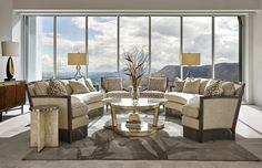Beautiful views, interior and exterior! #Mid-CenturyModern, #MargeCarson   More: www.liveniu.com