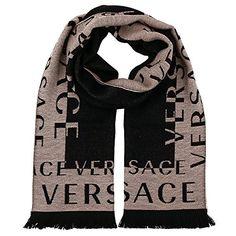 Versace BEIGE Beige 100 Wool Mens Scarf *** Visit the image link more details. Versace Scarf, Man Cold, Well Dressed Men, Cold Weather, Alexander Mcqueen Scarf, Scarves, Mens Fashion, Beige, Wool