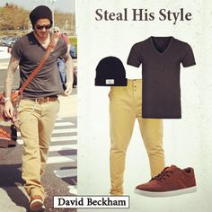 Who wouldn't want to look like David Beckham?!