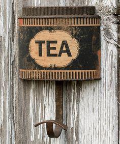 Look at this #zulilyfind! 'Tea' Wall Hook by Ragon House #zulilyfinds