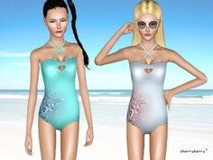 Beautiful swimwear by CherryBerrySim - Sims 3 Downloads CC Caboodle