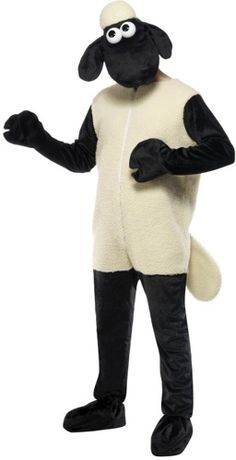 Our Shan the Sheep costume includes full jumpsuit with faux fur and separate sheep headpiece. A fantastic addition to our adult animal costumes range. Bahhhaaaaa!