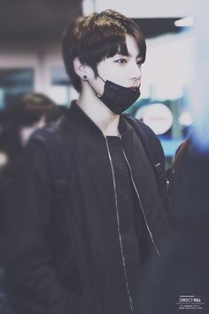Jungkook airport fashion bra bangtan boys