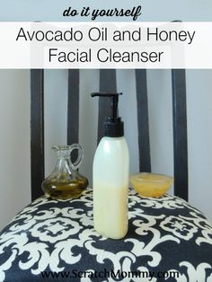 Avocado Oil and Honey Facial Cleanser Are you prone to dry, itchy skin? Wondering the best way to cleanse it? DIY Avocado Oil and Honey facial cleanser is a fabulous all natural skincare remedy.Facial (disambiguation) Facial is a personal care treatment w Natural Beauty Tips, Natural Skin Care, Natural Facial, Honey Facial, Luscious Hair, Home Remedies For Hair, Thing 1, Skin Care Remedies, Lotions