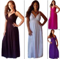 Bridesmaids dress option.......F591-DRESS-MAXI-SLEEVELESS-SWEETHEART-SEXY-CASUAL-RAYON-JERSEY-MADE-TO-ORDER