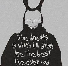 Tears for Fears - Mad World covered by Gary Jules for the movie Donnie Darko Series Quotes, Movie Quotes, Emo Quotes, Dark Quotes, Qoutes, Dark Fantasy, Gary Jules, Katharine Ross, Movies And Series