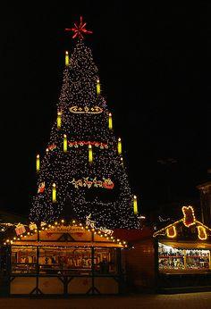 Christmas Tree in Dortmund, Germany