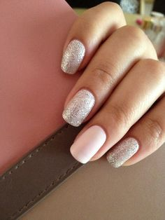 silver glitter nail art designs 2016 - Styles 7