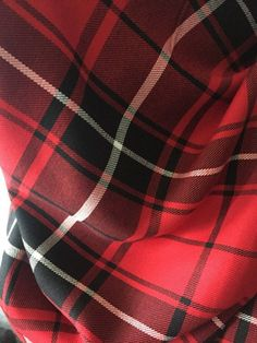 Super cozy blanket scarf, perfect for fall and winter! It is made of rayon woven fabric. This fabric is thinner than others, can be worn all day! Its large enough to wear as a poncho with belt or wrapped as a blanket scarf. Large Blankets, Cozy Blankets, Plaid Blanket Scarf, Woven Fabric, Red Black, How To Wear, Stuff To Buy, Handmade, Fashion