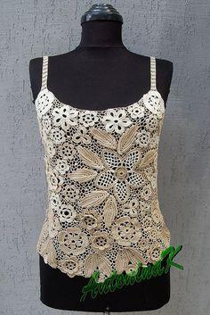Irish Crochet. Antonina Kuznetsova