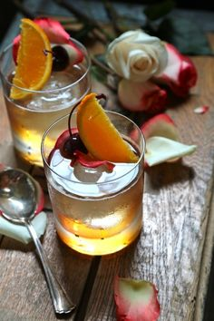 Rosewater Old Fashioned - www.countrycleaver.com