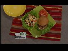 Blue Cheese Burgers recipe from Good Day Wisconsin's Cooking with Amy. Click the pin for the complete recipe.
