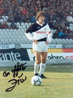 Zico of Udinese in 1983.