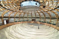 Stork's Nest Farm  Location: Czech Republic  Designer:SGL Projekt (Prague)  Dimensions: 112 feet in diameter, 41 feet in height  Why it's a...