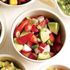 Chunky Strawberry-Avocado Salsa | Cooking Light