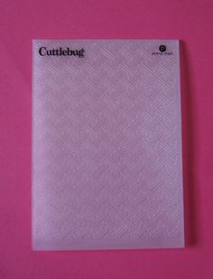 Cuttlebug Embossing Folder ORIENTAL WAVE #3  New (out of the box but never used) #Cuttlebug