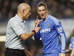 Fernando Torres. Chelsea 2-1 Manchester City. Premier League. Sunday, October 27, 2013.