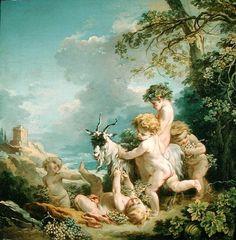 Autumn, 1731    Francois Boucher    Private Collection