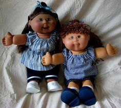 Summertime Sewing Patterns to suit 16in Cabbage Patch Kids