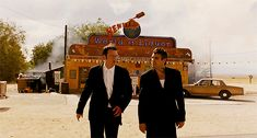 BROTHERTEDD.COM - georgeromeros: From Dusk Till Dawn (1996) dir.... Dusk Till Dawn, Quentin Tarantino, Style, Swag, Outfits