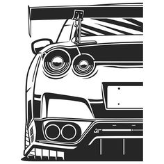 Nissan Gtr Wallpapers, Car Wallpapers, Tuner Cars, Jdm Cars, Arte Dope, Cool Car Drawings, Most Popular Cars, Jdm Wallpaper, Cars Coloring Pages