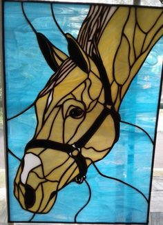 Stained Glass Horse by shaniah5308 on eBay