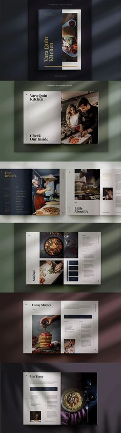 Cookbook / Recipe Book Design Template. Compatible with: Adobe InDesign. File Type: PDF, INDD. File Size: 64.83 MB. Dimensions: 8.5 x 11 in. DPI: 300. Layered Book Design Templates, Recipe Book Design, Brochure Food, Cookbook Template, Page Number, Color Profile, File Size, Adobe Indesign, Cookbook Recipes