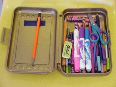 GENIUS!!!! nO MORE DIGGING AROUND IN THE OCEAN OF CRAYONS!!!!!!!!!!!!! OT Tools for Public Schools: Where Is My Pencil???